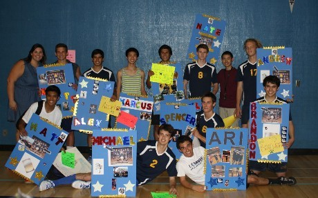 Senior Night, Boys Varsity Volleyball,